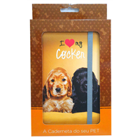 Cãoderneta Pet Cocker
